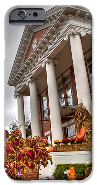 Fall iPhone Cases - Fall in Jonesborough Tennessee iPhone Case by Douglas Barnett