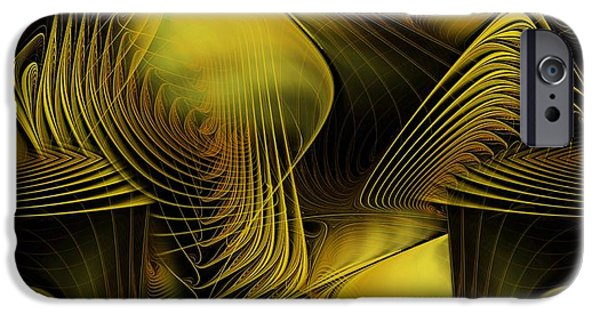 Apophysis Pastels iPhone Cases - Fall Into Your Dream iPhone Case by Gayle Odsather