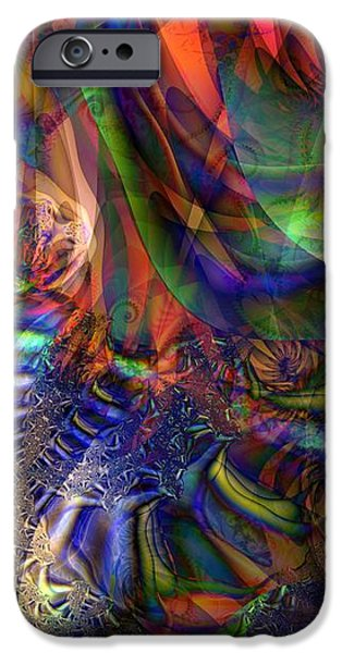 Fall Leaves and Green Beans iPhone Case by Ron Bissett