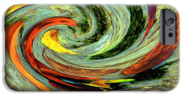 Fall iPhone Cases - Fall Passes Through On A Whirlwind iPhone Case by Mike Eingle