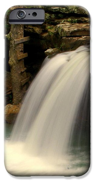 Falling Falls iPhone Case by Marty Koch