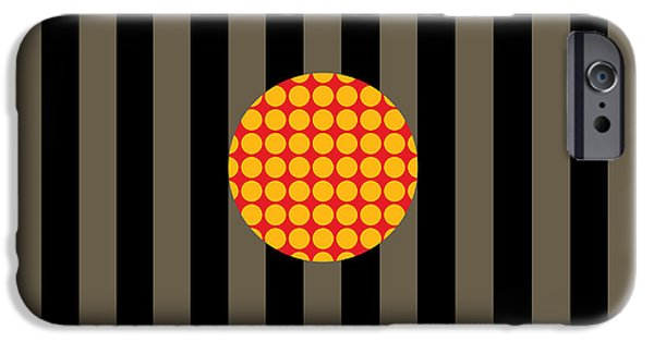 Stripes iPhone Cases - Far Out--Two iPhone Case by Patti Britton