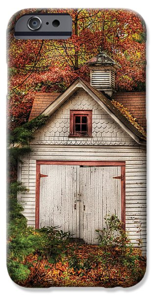 Farm - Barn - Our old shed iPhone Case by Mike Savad