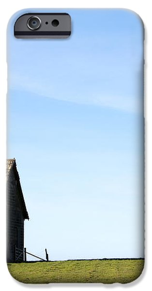 Farm House, Mendoncino, California iPhone Case by Paul Edmondson