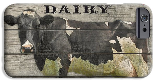 Locally Grown iPhone Cases - Farm to Table Dairy-JP2629 iPhone Case by Jean Plout