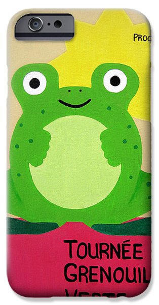 Fat Frog Best iPhone Case by Oliver Johnston