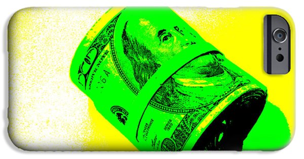 Money iPhone Cases - Fat Stacks iPhone Case by Michael Ledray