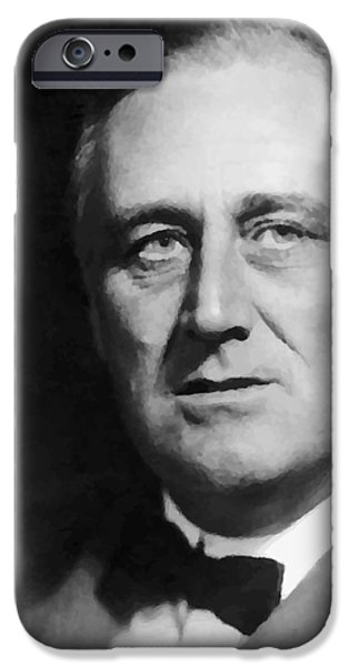 FDR iPhone Case by War Is Hell Store