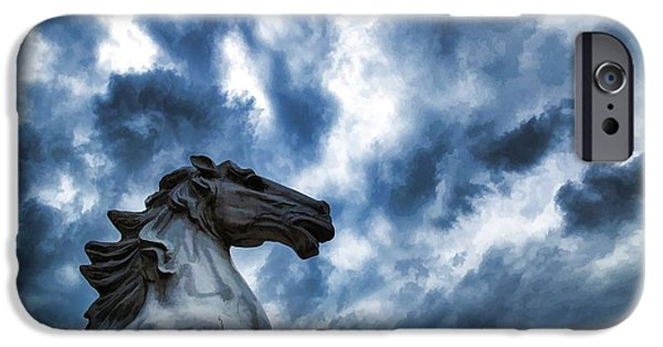 Storm iPhone Cases - Fearless iPhone Case by Dennis  Baswell