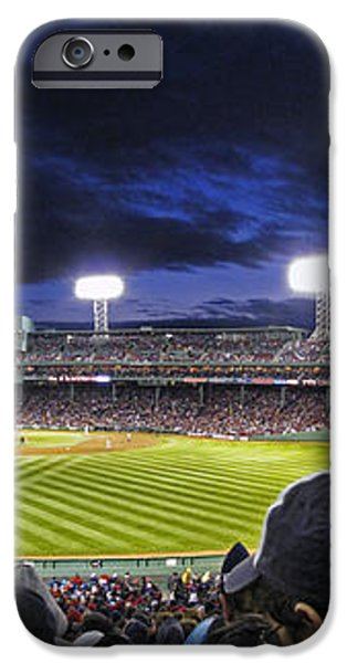 Fenway Night iPhone Case by Rick Berk