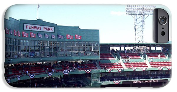 Fenway Park iPhone Cases - Welcome to Fenway Park Boston iPhone Case by Gina Sullivan