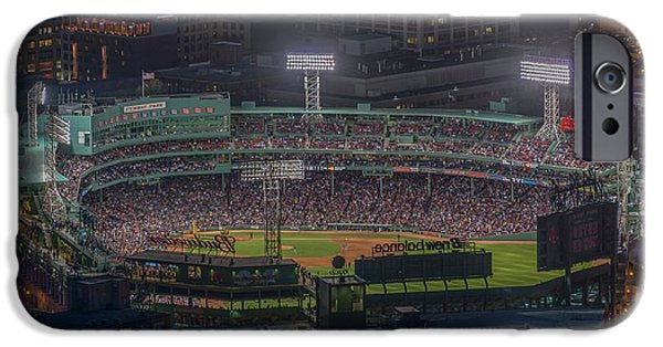 Fenway Park iPhone Cases - Fenway Park iPhone Case by Bryan Xavier