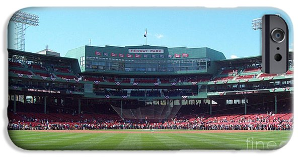 Boston Red Sox iPhone Cases - Fenway Park iPhone Case by Gina Sullivan