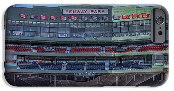 Red Sox iPhone Cases - Fenway Park Interior iPhone Case by Susan Candelario
