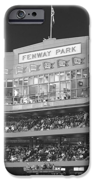 Fenway Park iPhone Cases - Fenway Park iPhone Case by Lauri Novak