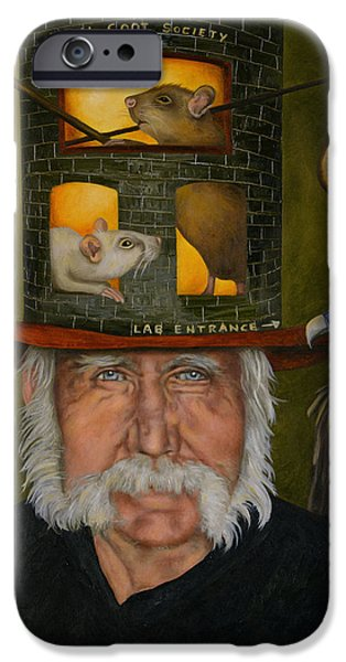Recently Sold -  - Strange iPhone Cases - Feral Coot Society iPhone Case by Leah Saulnier The Painting Maniac