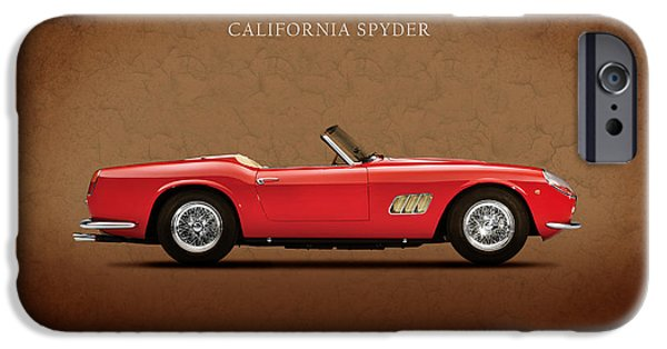 Vintage Car iPhone Cases - Ferrari 250 GT 1960 iPhone Case by Mark Rogan