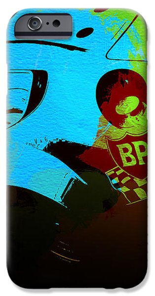 Ferrari 250 GTB 2 iPhone Case by Naxart Studio