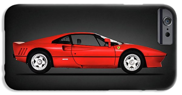 Ferrari Gto iPhone Cases - Ferrari 288 GTO iPhone Case by Mark Rogan