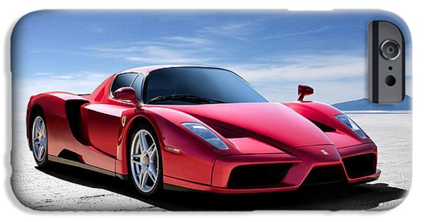 Extreme iPhone Cases - Ferrari Enzo iPhone Case by Douglas Pittman