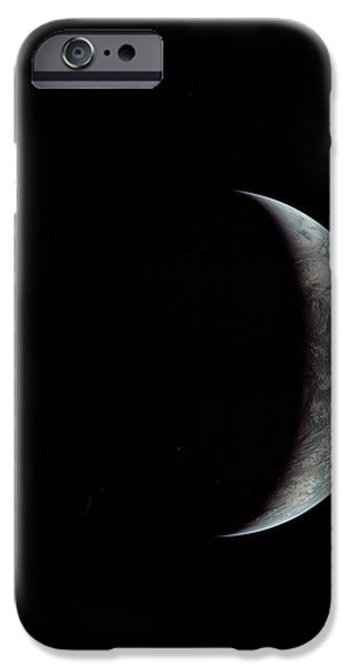 Fifi in space iPhone Case by Michael Ledray