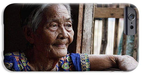 Stock Images iPhone Cases - Filipino Lola - Image Number Fourteen  iPhone Case by James BO  Insogna