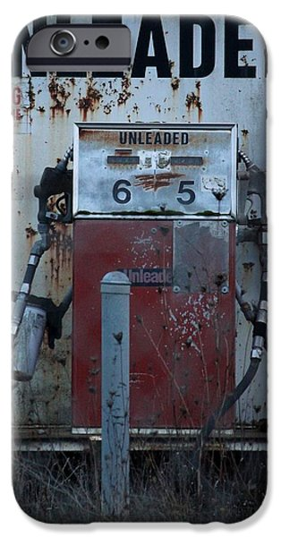 Rust iPhone Cases - Fill Her Up iPhone Case by Christine Patterson