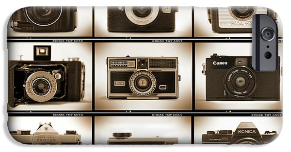 Brownie iPhone Cases - Film Camera Proofs 1 iPhone Case by Mike McGlothlen