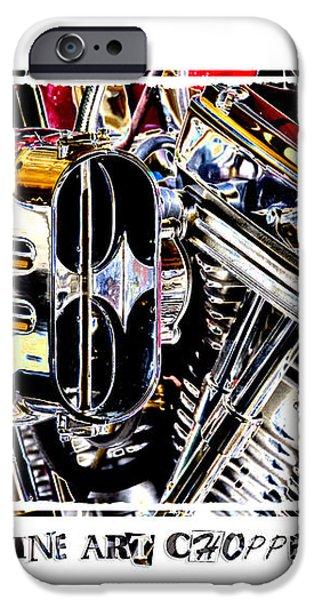 Fine Art Chopper II iPhone Case by Mike McGlothlen