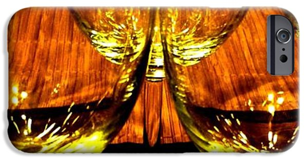 Will Borden iPhone Cases - Fine Wine And Dine 3 iPhone Case by Will Borden