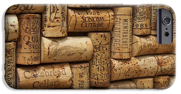 Vintage Wine Lovers Photographs iPhone Cases - Fine Wine iPhone Case by Anthony Jones