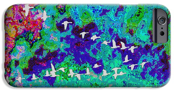 Child iPhone Cases - FineArt Birds of Paradise creation by NavinJoshi at FineArtAmerica.com Signature Selection Emporium iPhone Case by Navin Joshi