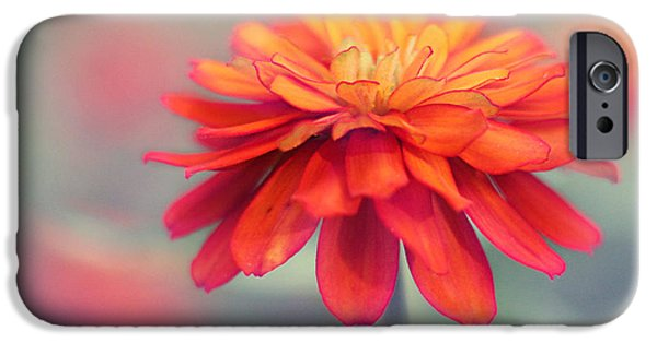 Bright Photographs iPhone Cases - Fire and Ice iPhone Case by Amy Tyler