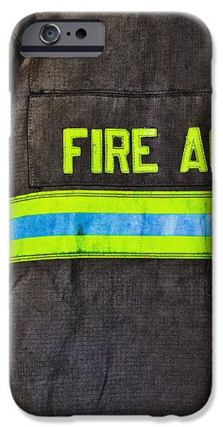 Fireman Jackets iPhone Case by Skip Nall