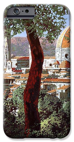 Firenze iPhone Case by Guido Borelli