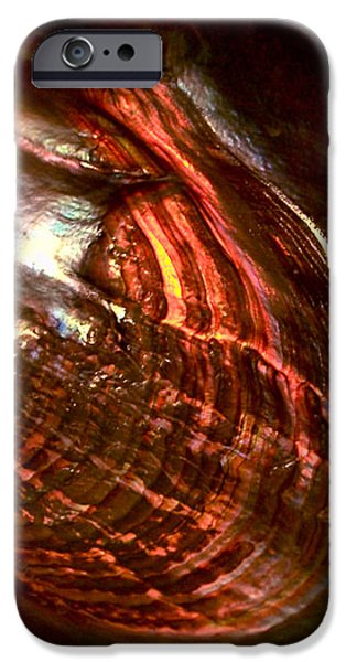 Firestorm iPhone Case by Rona Black