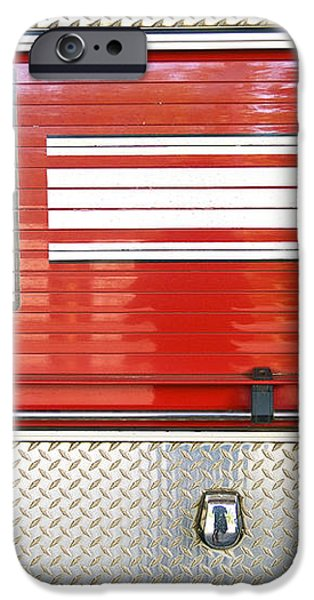 Firetruck Detail I iPhone Case by Kicka Witte - Printscapes