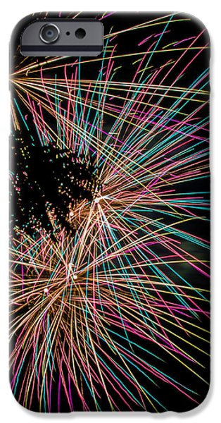 Recently Sold -  - Fourth Of July iPhone Cases - Fireworks iPhone Case by Indecisivelykat Photography