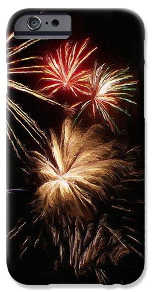 Fireworks iPhone Case by Jeff Kolker