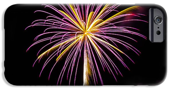 Recently Sold -  - 4th July iPhone Cases - Fireworks iPhone Case by Robert Green