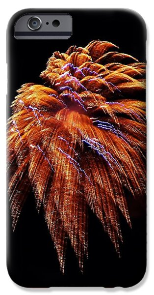 July iPhone Cases - Fireworks iPhone Case by Stacie Gary