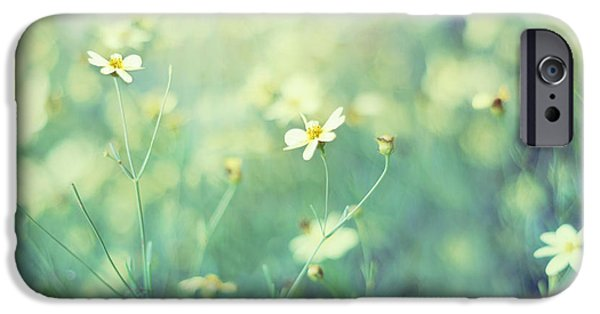 Floral Photographs iPhone Cases - First Impression iPhone Case by Amy Tyler