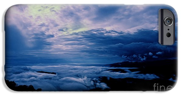 Fog Mist iPhone Cases - First Light iPhone Case by Tom Gari Gallery-Three-Photography