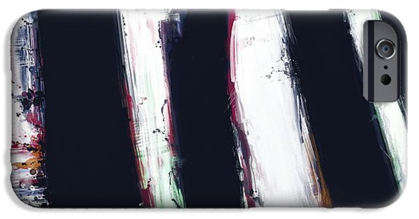 Loose Style Digital iPhone Cases - First shadow iPhone Case by Keith Mills