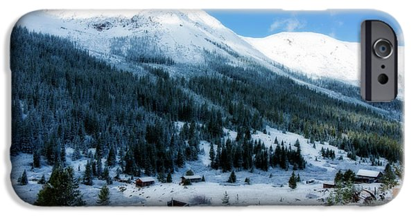 Winter Weather iPhone Cases - First Snow iPhone Case by Joan Carroll
