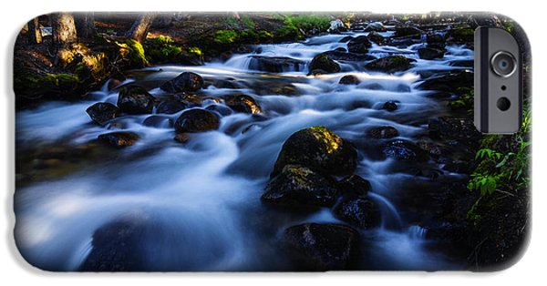 Animals Photographs iPhone Cases - Fishhook Creek in Stanley Idaho USA iPhone Case by Vishwanath Bhat