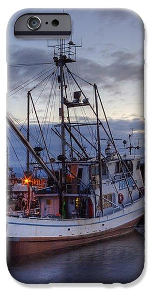 Fishing Fleet iPhone Case by Randy Hall