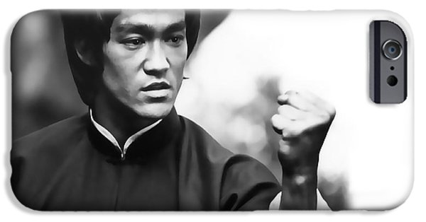 Fury iPhone Cases - FIST of FURY iPhone Case by Daniel Hagerman