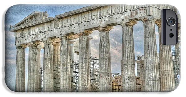 Acropolis iPhone Cases - Fixer Upper iPhone Case by David Bearden