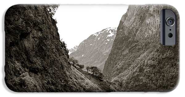 Norway iPhone Cases - Fjord Beauty iPhone Case by Dave Bowman